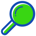 SEO Resources Google Search magnifying glass