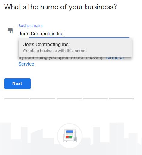 Google Business Setup